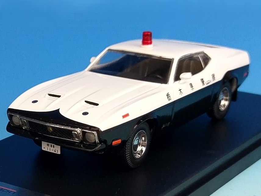 [PremiumX] 1/43 Ford Mustang MACH 1 1973 Japan Police 栃木県警察