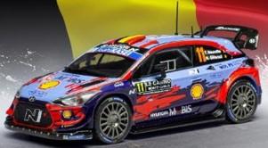 ixo 1/43 ヒュンダイ i20 クーペ WRC 2020 ラリー・モンテカルロ 優勝 #11