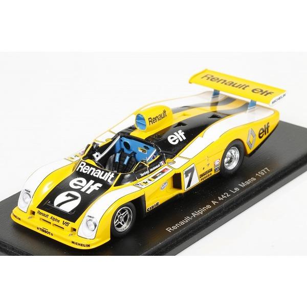 【スパーク】 1/43 Renault-Alpine A442 No.7 Le Mans 1977  P. Tambay - J.-P. Jaussaud