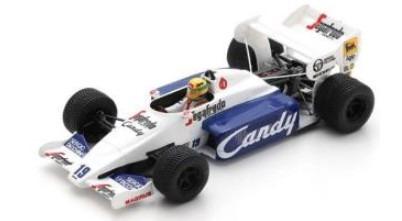 Spark 1/43 Toleman TG184 No.19 2nd Monaco GP 1984 Ayrton Senna