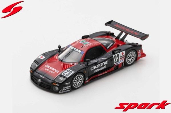 Spark 1/43 Nissan R390 GT1 No.23 24H Le Mans 1997 K. Hoshino - E. Comas - M. Kageyama