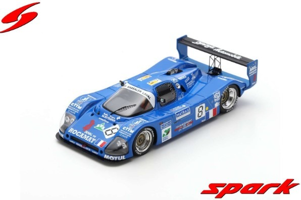 Spark 1/43 Alpa LM No.8 24H Le Mans 1994 N. Minassian - P. Bourdais - O. Couvreur