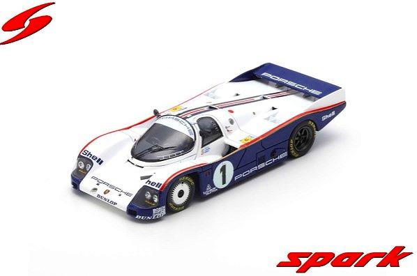 Spark 1/43 Porsche 962 C No.1 24H Le Mans 1985 J. Ickx - J. Mass - D. Bell