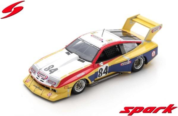 Spark 1/43 Chevrolet Monza No.84 24H Le Mans 1978 B. Frisselle - B. Kirby - J. Hotchkis