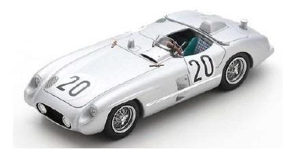 Spark 1/43 Mercedes-Benz 300 SLR No.20 24H Le Mans 1955 P. Levegh - J. Fitch