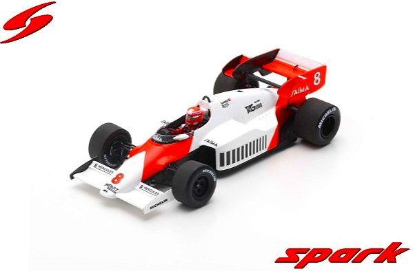 [Spark] 1/43 McLaren MP4-2 No.8 Winner British GP 1984 Niki Lauda
