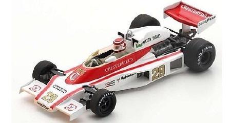 Spark 1/43 McLaren M23 No.29 Austrian GP 1978 Nelson Piquet