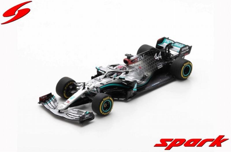 Spark 1/43 Mercedes-AMG F1 W11 EQ Performance No.44 Barcelona Test 2020 Lewis Hamilton