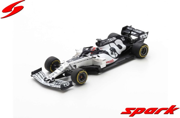Spark 1/43 AlphaTauri AT01 No.10 Scuderia AlphaTauri F1 Team Barcelona Test 2020 Pierre Gasly