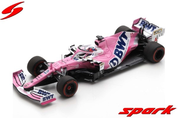 Spark 1/43 BWT Racing Point RP20 No.11 BWT Racing Point F1 Team 6th Styrian GP 2020 S.Perez