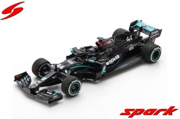 Spark 1/43 Mercedes-AMG F1 W11 EQ Performance No.44 Winner Silverstone GP 2020 L.Hamilton