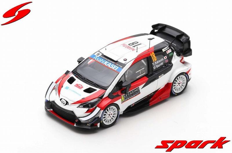 Spark 1/43 TOYOTA Yaris WRC No.18 Rally Monte Carlo 2020 T. Katsuta - D. Barritt