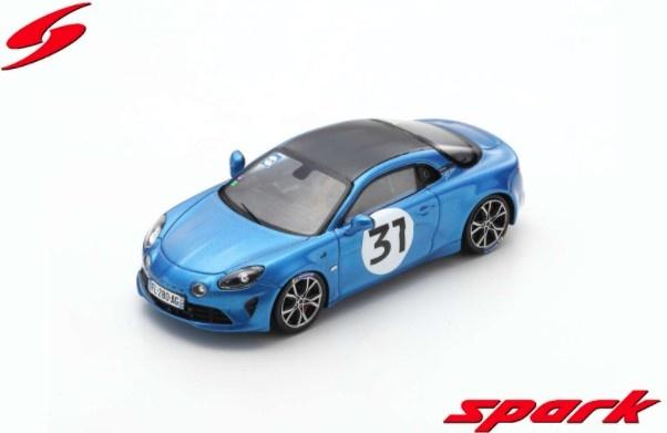 Spark 1/43 Alpine A110S No.31 Rally Monte Carlo 2021 Esteban Ocon
