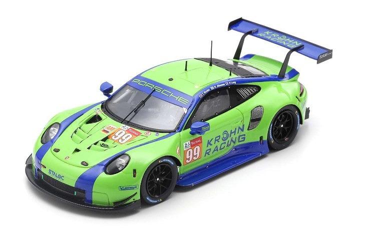 Spark 1/43 Porsche 911 RSR No.99 Dempsey-Proton Racing 24H Le Mans 2019