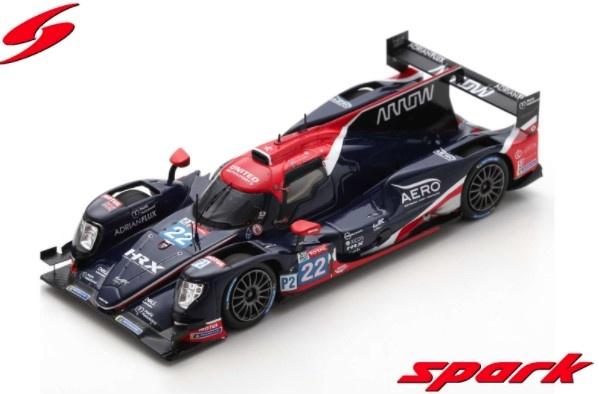 Spark 1/43 Oreca 07 - Gibson No.22 United Autosports Winner LMP2 class 24H Le Mans 2020