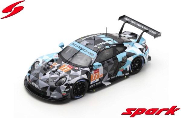 Spark 1/43 Porsche 911 RSR No.77 Dempsey-Proton Racing 2nd LMGTE Am class 24H Le Mans 2020