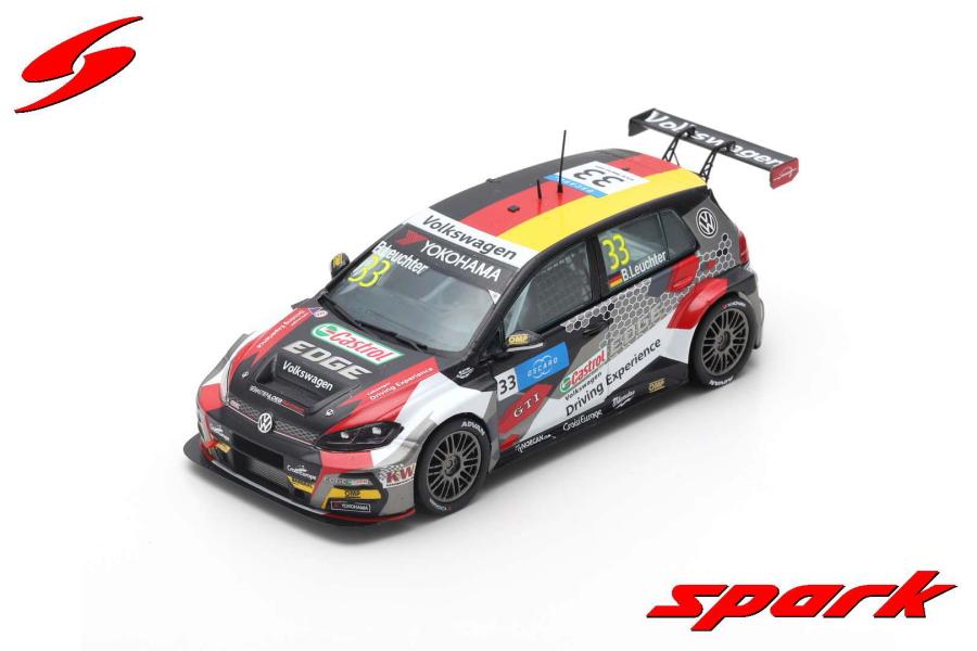 【spark】 1/43 VW GOLF GTI TCR NO.14 S?BASTIEN LOEB RACING WINNER RACE 2 WTCR 2019 N?RBURGRING JOHAN KRISTOFFERSSON