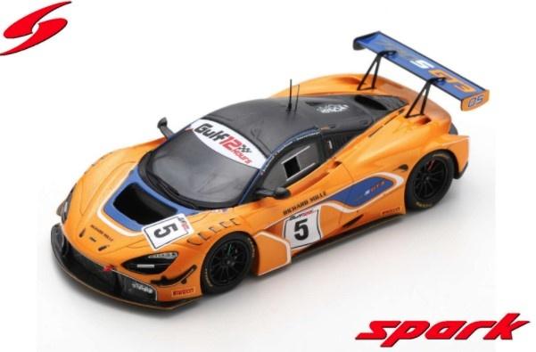 Spark 1/43 McLaren 720S GT3 No.5 McLaren Motorsport 8th Gulf 12H 2018 B. Barnicoat - A. Parente - S. van Gisbergen