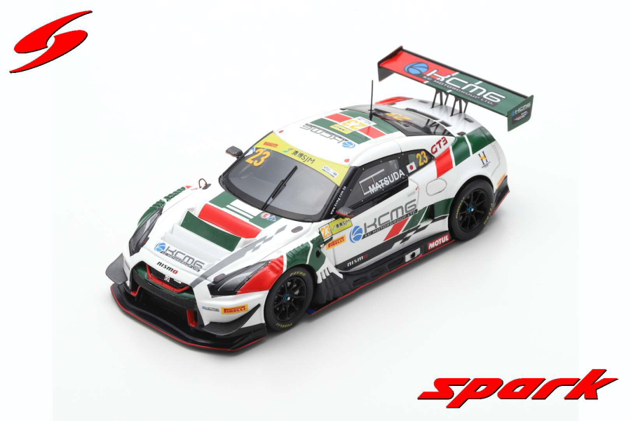【spark】 1/43 NISMO GT-R GT3 NO.23 KCMG FIA GT WORLD CUP MACAU 2018 TSUGIO MATSUDA LIMITED 500