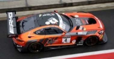<予約 2021/4月発売予定> Spark 1/43 Mercedes-AMG GT3 No.4 Mercedes-AMG Team HRT 7th 24H Spa 2020