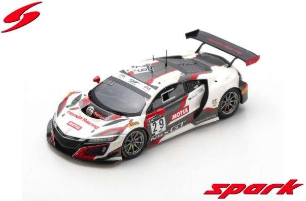 <予約 2021/5月発売予定> Spark 1/43 Honda Acura NSX GT3 No.29 Team Honda Racing 9th 24H Spa 2020