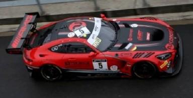 <予約 2021/5月発売予定> Spark 1/43 Mercedes-AMG GT3 No.5 HRT Winner Silver Cup 24H Spa 2020