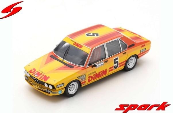 Spark 1/43 BMW 530i No.5 Winner 24H Paul Ricard 1979 J-P. Beltoise - H. Pescarolo Limited 500
