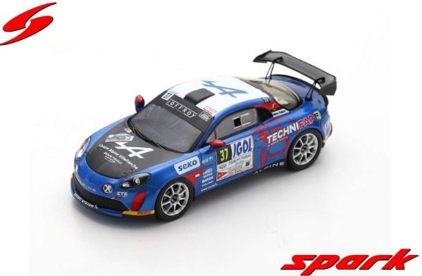 Spark 1/43 Alpine A110 Rally No.37 Rallye Mont-Blanc Morzine 2020 E.Guigou - A.Coria Limited 300