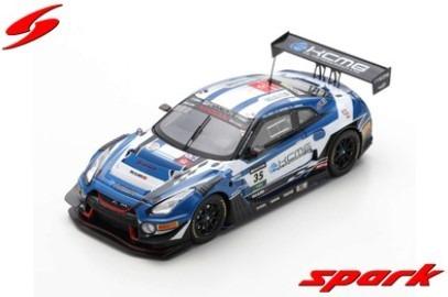 Spark 1/43 Nissan GT-R Nismo GT3 No.35 KCMG 6th Suzuka 10H 2019 K. Chiyo - J. Burdon - T. Matsuda