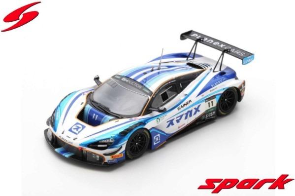 Spark 1/43 McLaren 720S GT3 No.11 PLANEX SMACAM RACING Suzuka 10H 2019 Limited 750
