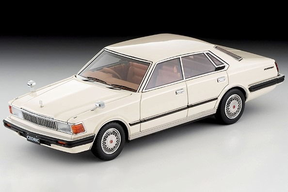 TOMYTECxignition 1/43 日産セドリックHT 280E ブロアム(白)