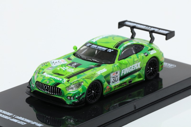 TARMAC 1/64 Mercedes-AMG GT3 eRacing Grand Prix Hong Kong