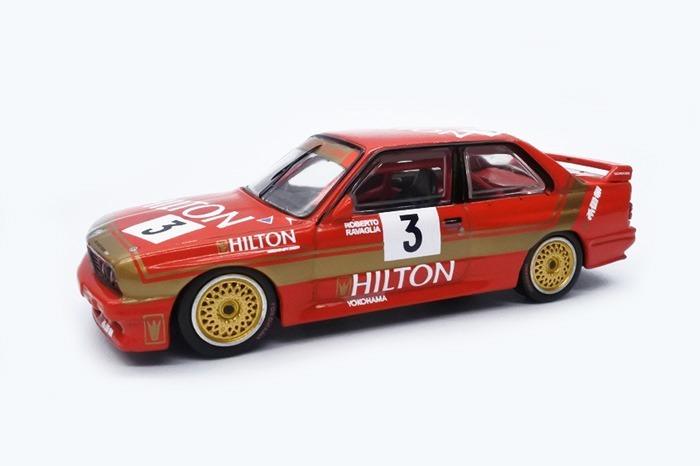 TARMAC 1/64 BMW M3 E30 Macau Guia Race 1987 Winner