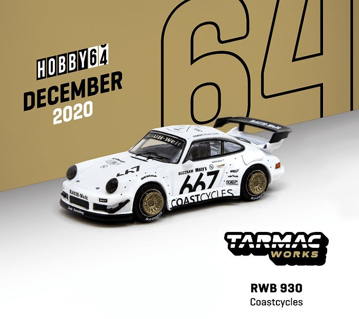 TARMAC 1/64 RWB 930 Coastcycles