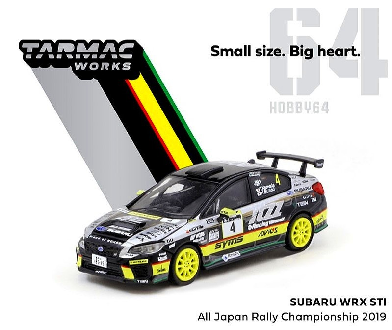 TARMAC 1/64 Subaru WRX STI