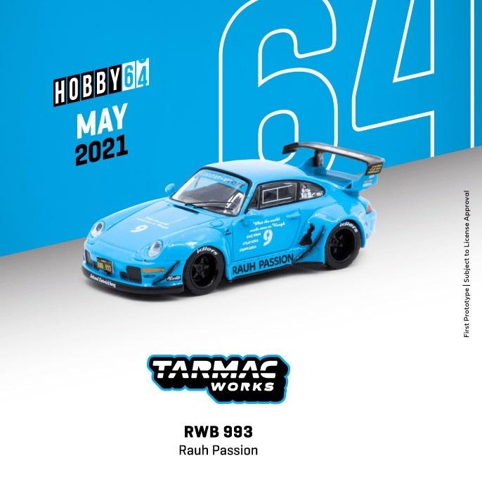 TARMAC 1/64 RWB 993 Rauh Passion