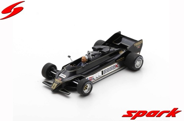 Spark 1/43 Lotus 88 No.11 Presentation Car 1981 With Colin Chapman Limited 1000
