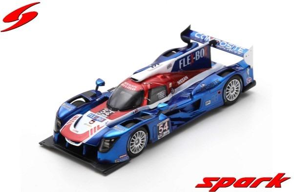 Spark 1/43 Nissan DPi No.54 CORE Autosport 4th 24H Daytona 2019
