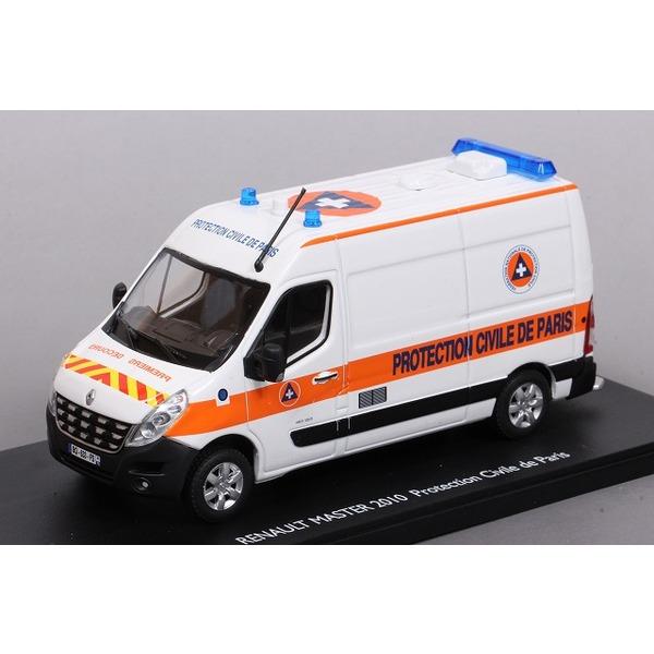 【エリゴール】 1/43 ルノー マスター 2010 救急車 PROTECTION CIVILE DE PARIS