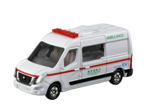 トミカ 日産 NV400 EV救急車