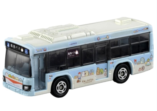 トミカ No.112 いすゞ エルガ すみっコぐらし×臨港バス