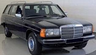 NOREV 1/18 Mercedes Benz 200T 1982 Black
