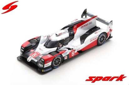 spark 1/18 TOYOTA TS050 HYBRID No.8 TOYOTA GAZOO Racing Winner 24H LeMans 2020 S.Buemi-B.Hartley-K.Nakajima