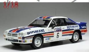 <予約> [ixo] 1/18 オペル マンタ 400 1983年RACラリー #6 A.Vatanen/T.Harryman