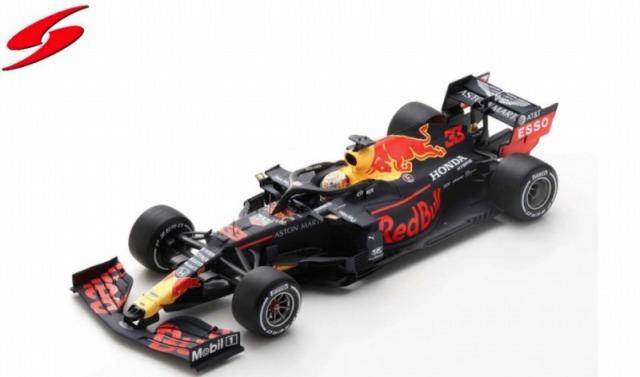 Spark 1/18 Aston Martin Red Bull Racing RB16 No.33 Barcelona Test 2020 Max Verstappen