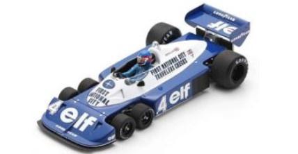 <予約 2021/12月発売予定> Spark 1/18 Tyrrell P34 No.4 3rd South African GP 1977 Patrick Depailler
