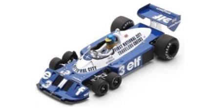 <予約 2021/12月発売予定> Spark 1/18 Tyrrell P34 No.3 6th Italian GP 1977 Ronnie Peterson