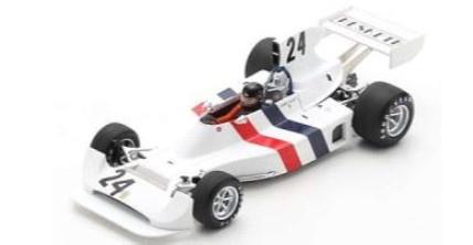 <予約 2021/12月発売予定> Spark 1/18 Hesketh 308 No.24 3rd Sweden GP 1974 James Hunt
