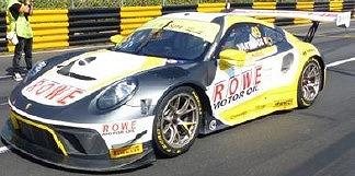 <予約> [Spark] 1/18 Porsche 911 GT3 R No.99 ROWE Racing 2nd FIA GT World Cup Macau 2019 Laurens Vanthoor