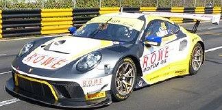 <予約> [Spark] 1/18 Porsche 911 GT3 R No.98 ROWE Racing  3rd FIA GT World Cup Macau 2019 Earl Bamber